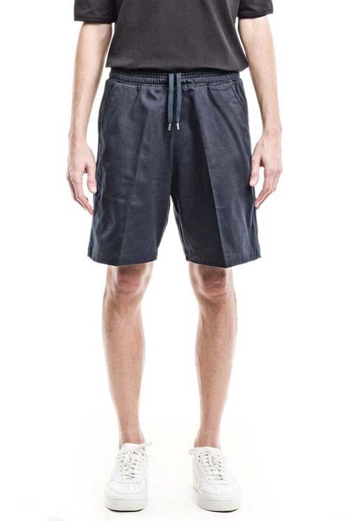 ALEXANDER - Classic Elastic Shorts - Massawa Navy
