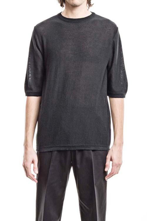 FEYSTONGAL - Knit T-Shirt - Black