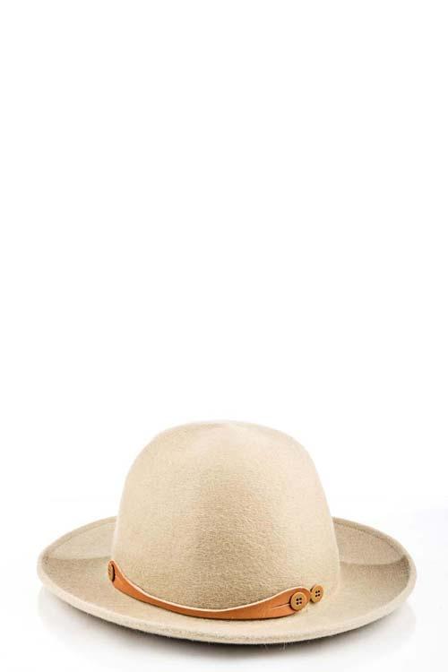 INVICTUS - Felt Hat - Beige