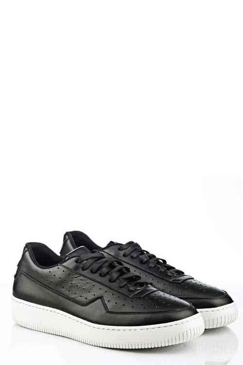 VARENNE - Shoes - Black Leather