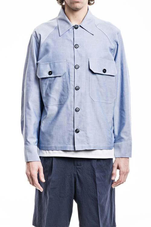 BALIO - Original Jacket Shirt - Oxford Light Blue